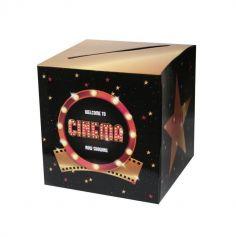 tirelire-urne-decoration-salle-enveloppe-argent | jourdefete.com