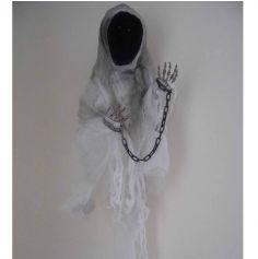Décoration Halloween - Spectre hurlant animé