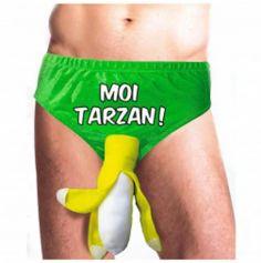 """Slip Banane """"Moi Tarzan"""""""
