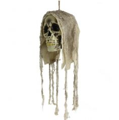 Décoration à Suspendre Tête de Mort