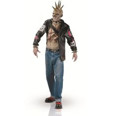 Déguisement de Zombie Punk - Taille Unique