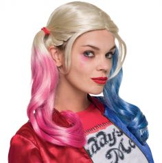 "Perruque Harley Quinn ""Suicide Squad"""
