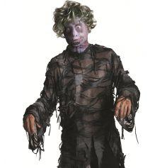 Cagoule Zombie avec Perruque