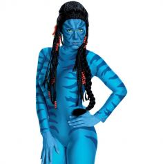 Perruque Luxe pour Adulte- Neytiri Avatar