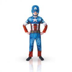 Déguisement Avengers Captain America Garçon - Taille au Choix