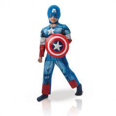 Captain America enfant Luxe - Taille au choix