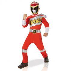 Power Rangers Rouge Enfant - Taille au choix