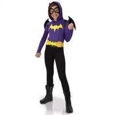 Déguisement Superhéro Girls Fille Batgirl - Taille au Choix
