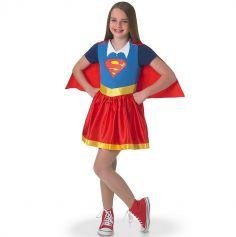Déguisement Superhéro Girls Fille Supergirl - Taille au Choix
