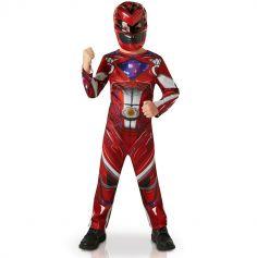 Déguisement Power Rangers Rouge Garçon - Taille au Choix