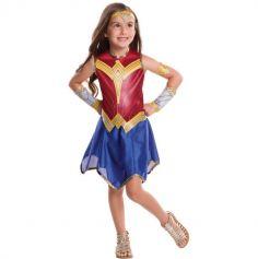 """Déguisement Fille Wonder Woman """"Justice League"""" - Taille au choix"""