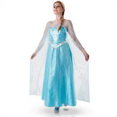 Déguisement pour adulte Elsa de la Reine des Neiges - Taille au choix