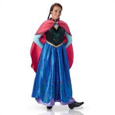 """Déguisement pour Adulte """"Anna"""" de la Reine des neiges - Taille au choix"""