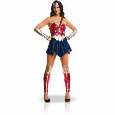 Déguisement Wonder Woman Adulte - Robe et accessoires - Taille au choix