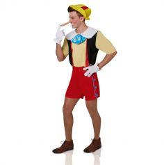 Déguisement pour Adulte de Pinocchio - Taille au choix