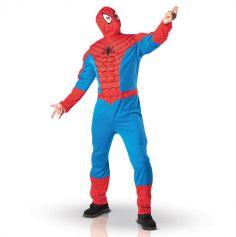 Déguisement Spiderman avec torse - Taille au choix