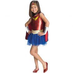 """Déguisement Wonder Woman """"Comic Book"""" Fille - Taille au Choix"""