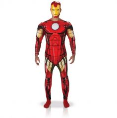Costume Avengers Iron Man Adulte - Taille au Choix