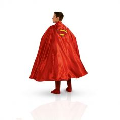 Cape de Superman de Luxe Adulte