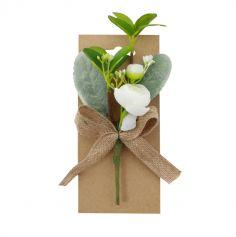 bouquet-rose-blanche-romantique|jourdefete.com