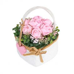 panier-roses-roses-decoration-vegetal | jourdefete.com
