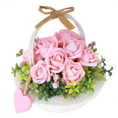 roses-panier-rond-decoration | jourdefete.com
