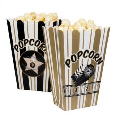 4 Box à Popcorn Cinéma