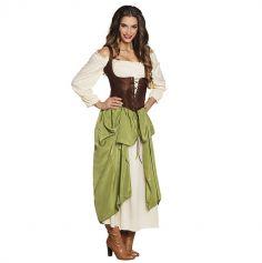 Costume de Tavernière Femme - Taille au Choix