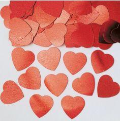 Confettis Cœur Rouge - 14 gr