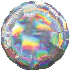 ballon-helium-sirene-licorne-iridescent | jourdefete.com