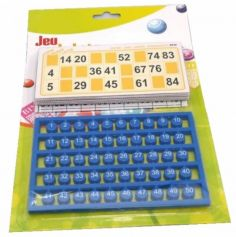 Jeu de loto (12 cartes et 90 jetons)