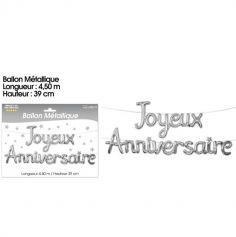 guirlande-joyeux-anniversaire-argent | jourdefete.com