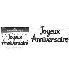 joyeux-anniversaire-noir-guirlande | jourdefete.com