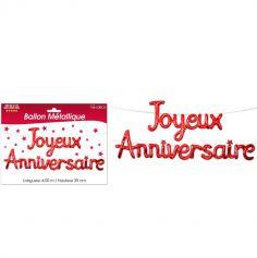 joyeux-anniversaire-guirlande-rouge | jourdefete.com