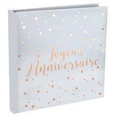 livre-dor-joyeux-anniversaire-rose-gold-blanc|jourdefete.com