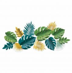 decoration-murale-feuille-tropicale|jourdefete.com