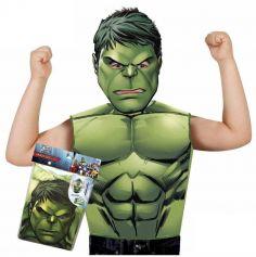 Kit déguisement Avengers - Hulk - 3-6 ans