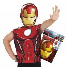 Kit déguisement Avengers - Iron man - 3-6 ans