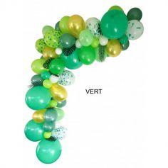 Kit Guirlande de 50 Ballons Organiques de 5 mètres - Couleur au Choix