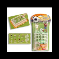 Kit pour Décoration de Gâteau - Football