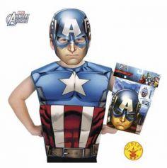 Kit déguisement Avengers - Captain America - 3-6 ans