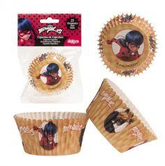 25 Caissettes pour Cupcakes - Miraculous Ladybug