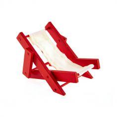 Décoration de table - Transat Rouge