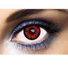"""Lentilles Fantaisies - Rouge - """"Bella Volturi"""" - 1 An (Sans correction)"""