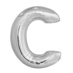 ballon aluminium helium lettre c 114 cm | jourdefete.com