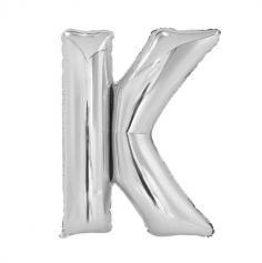 ballon aluminium helium lettre k 100 cm | jourdefete.com