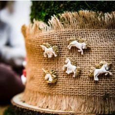 6 Licornes Blanches Adhésives - Jolie Licorne
