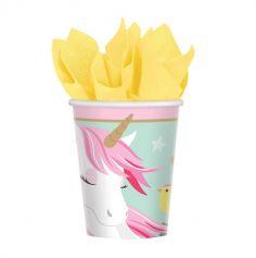 licorne-magique-gobelet-anniversaire | jourdefete.com