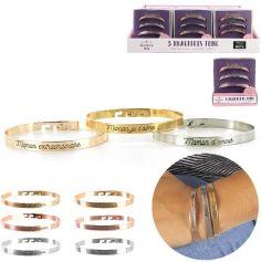 Boîte de 3 Bracelets à Message pour Maman