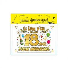 livre-or-anniversaire-18ans | jourdefete.com